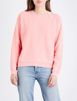 Elizabeth and James Vintage cotton-jersey sweatshirt