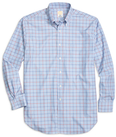 Brooks Brothers Golden Fleece® Madison Fit Check with Windowpane Sport Shirt