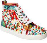 Christian Louboutin Louis Orlato Leather Sneaker