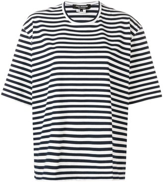 Junya Watanabe Cut Out Striped Tee