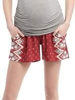 Motherhood Maternity Secret Fit Belly A-line Maternity Shorts