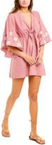 SUNDRESS Tie-Front Mini Dress