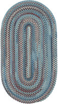 JCPenney Capel Inc. Capel American Traditions Braided Wool Oval Runner Rug