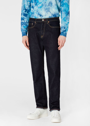 Paul Smith Men's Standard-Fit Indigo 'Soft Stretch' Jeans