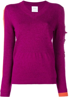 Barrie New Romantic cashmere V-neck pullover