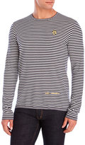 Love Moschino Striped Crew Sweater
