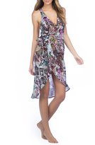 Kenneth Cole New York Pure Instincts Wrap Caftan Cover-Up