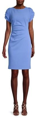 Karl Lagerfeld Paris Crewneck Mini Dress