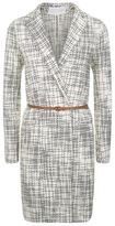 Fabiana Filippi Belted Tweed Coat