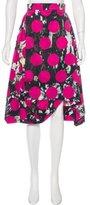 Vivienne Westwood Abstract Print Knee-Length Skirt