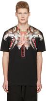 Marcelo Burlon County of Milan Black Victor T-shirt