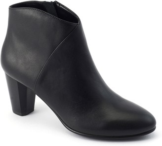 David Tate Leather Booties - Rocco
