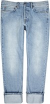 Our Legacy First Cut Blue Straight-leg Jeans