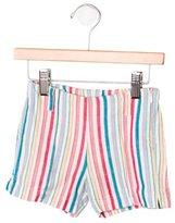 Il Gufo Girls' Striped Shorts