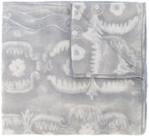 Giorgio Armani floral pattern scarf