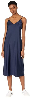 J.Crew Slip Dress (Navy) Women's Dress