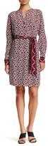 Trina Turk Janny Silk Honeycomb Dress