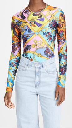 Versace Belts Print Bodysuit
