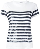 P.A.R.O.S.H. Garin T-shirt - women - Cotton/PVC - S