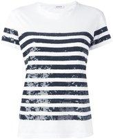 P.A.R.O.S.H. Garin T-shirt - women - Cotton/PVC - XS
