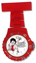 Betty Boop Photo Dial Red Girls Nurses Fob Watch BTY01/A