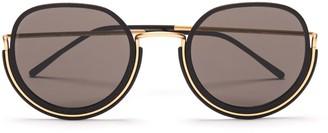 Wires Glasses Varda - Gold/Black/Grey