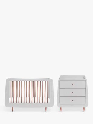 Snüz Snuz Snuzkot Metallic 2 Piece Furniture Set