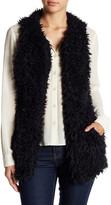 Cejon Shaggy Faux Fur Vest