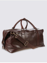 M&S Collection Casual Leather Holdall
