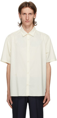 Kenzo Off-White Casual Short Sleeve Shirt