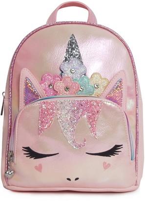 OMG Accessories OMG Flower Crown Miss Gwen Unicorn Backpack
