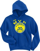 "KING THREADS Steph Curry Golden State Warriors ""THE MVP"" Hooded Sweatshirt"