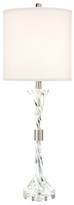 John-Richard Collection Twisted Cotton & Silk Table Lamp