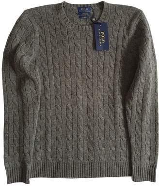 Polo Ralph Lauren Grey Cashmere Knitwear