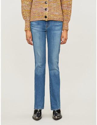 J Brand Sallie flared mid-rise jeans
