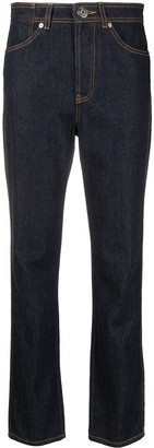 Lanvin High-Waist Tapered Jeans