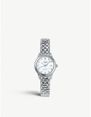 Longines L4.274.4.87.6 La Grande Classique stainless steel and diamond watch