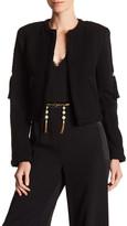 Rachel Zoe Sam Silk Lined Wool Jacket