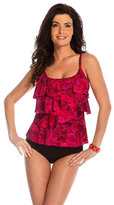Miraclesuit Tangier Tiered Up Tankini Top