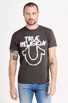 True Religion Stencil Logo Mens Tee