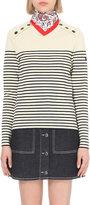 Claudie Pierlot Matelot striped wool jumper