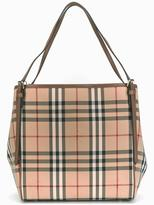 Burberry house check shoulder bag - women - Calf Leather/Polyamide - One Size