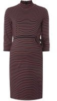 Dorothy Perkins Womens **Mamalicious Maternity Stripe Tube Dress- Red