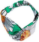 Gucci GG daisy print headband