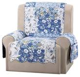 Sure Fit Blue Heirloom Bluebell Floral Recliner Furniture Cover
