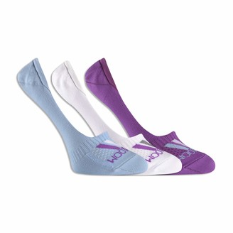 Fruit of the Loom Women's Breathable Liner Socks-3 Pair Pack