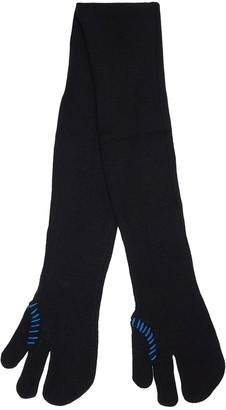 Ader Error Glove Shape Logo Wool Blend Knit Scarf
