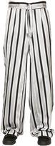 La Perla Striped Silk Jacquard Pajama Pants