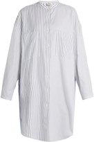 Acne Studios Esloane striped long-sleeved cotton shirtdress