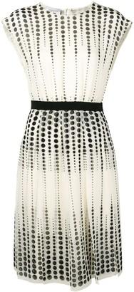 Giambattista Valli circle print dress